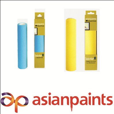 Asian Painting Foam Rollers Interior