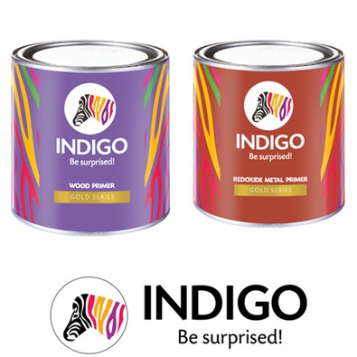 Indigo Paints Gold Series Primer  (Wood/Metal)