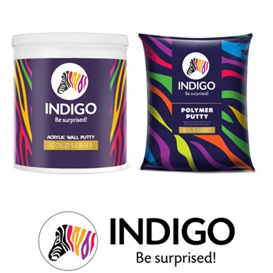 Indigo Paints Wall Putty Gold Series  (Undercoats)