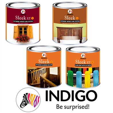 Indigo Paints Sleek wood Finish