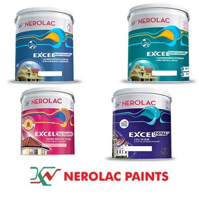 Nerolac Exterior Paint Premium Range