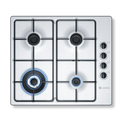 Bosch Stainless Steel Gas Hob With Integrated Controls (PBH615B8TI)