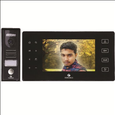 Zebronics Video Door Phone 7 Inch  LCD With SD Card Recording(ZEB-VD7RT)