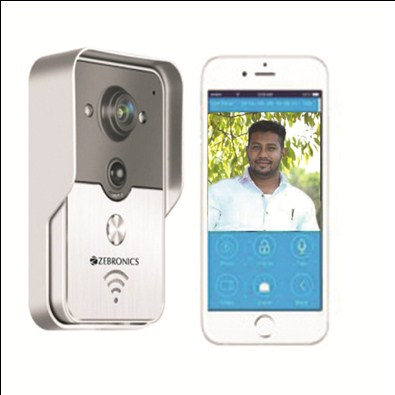Zebronics Video Door Phone With WIFI (ZEB-VDP)