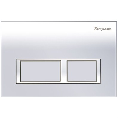 Parryware Linea Plus Push Plates (C8218A1/C8218A2/C82181C Square Chrome/Matte/White)