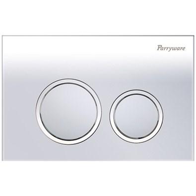 Parryware Linea Plus Push Plates (C8220A1/C8220A2/C82201C Round Chrome/Matte/White)