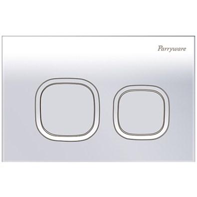 Parryware Linea Plus Push Plates (C8219A1/C8219A2/C82191C Soft Chrome/White/Matte)