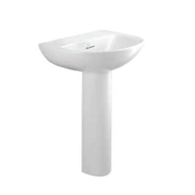 Parryware Basin With Pedestal Cardiff (C0480(sp)/81(CTH) Basin)
