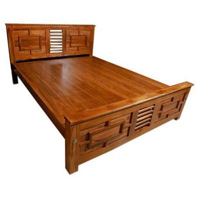 new concept c2fb4 0e93d Indograce Emart   Wooden Cot-Queen Size(IG-1)   Buy Building ...