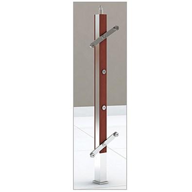 Stainless Steel Balustrade Handrails(0045 Wood & Steel)