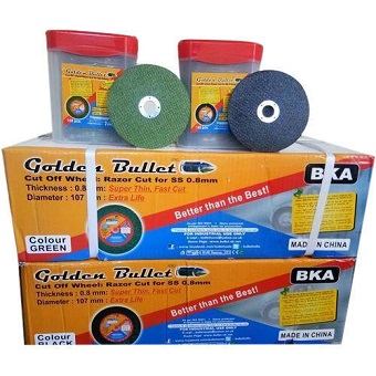 SS Cutting Wheels -4 Inches(1 Case- 800 Pieces)