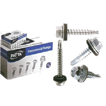 Patta Self Drilling Screws 45 mm(1 Case- 2000 Pieces)