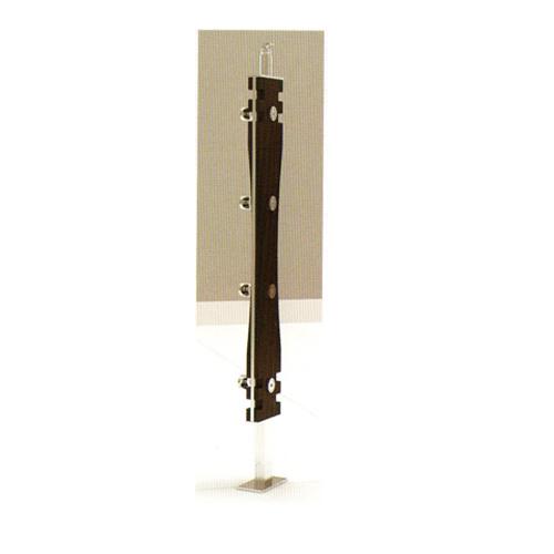 Stainless Steel Balustrade Handrails(0064 Wood & Steel VT)