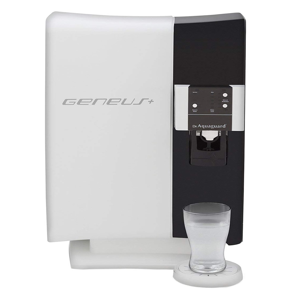 Isha Sales Dr Aquaguard Geneus+ In Ro+Uv+Uf Water Purifier In 7 Liters (Grey)