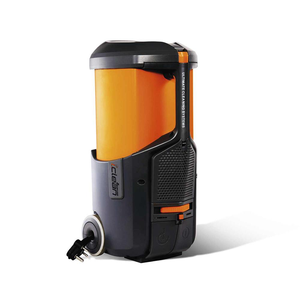 Eureka Forbes Euroclean Iclean Vacuum Cleaner Black and Orange