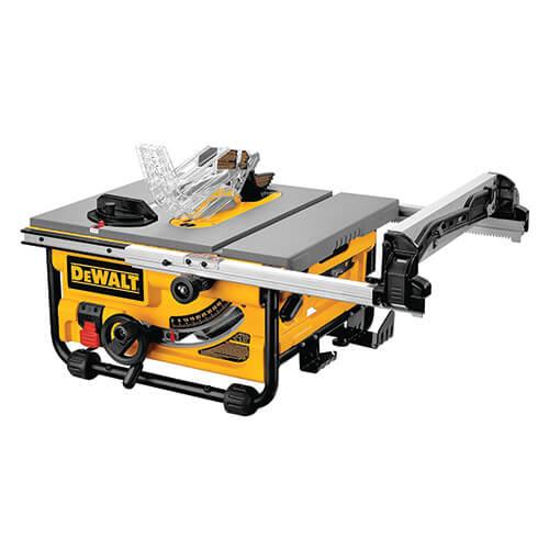DEWALT -Lightweight Table Saw (DW745)