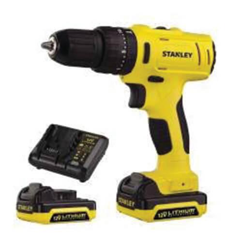 STANLEY BLACK & DECKER -Cordless Hammer Drill Kit (SCH 12S2K)