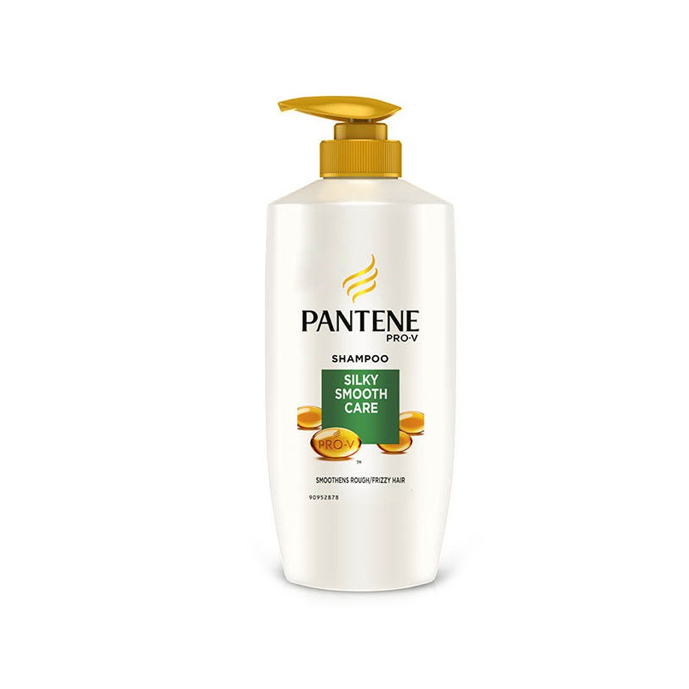 Pantene Smooth Silky Shampoo 700ml