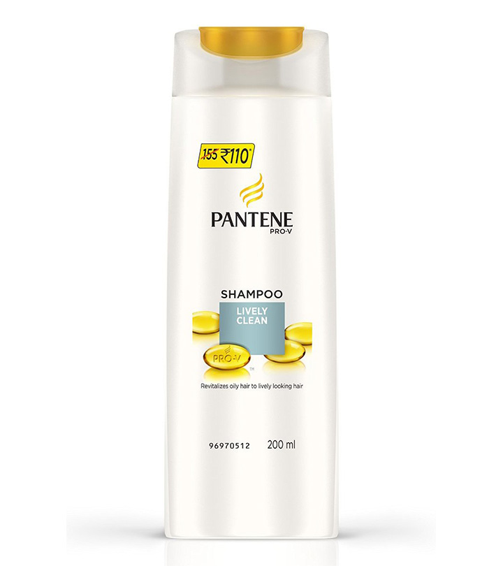 Pantene Smooth Silky Shampoo 200ml