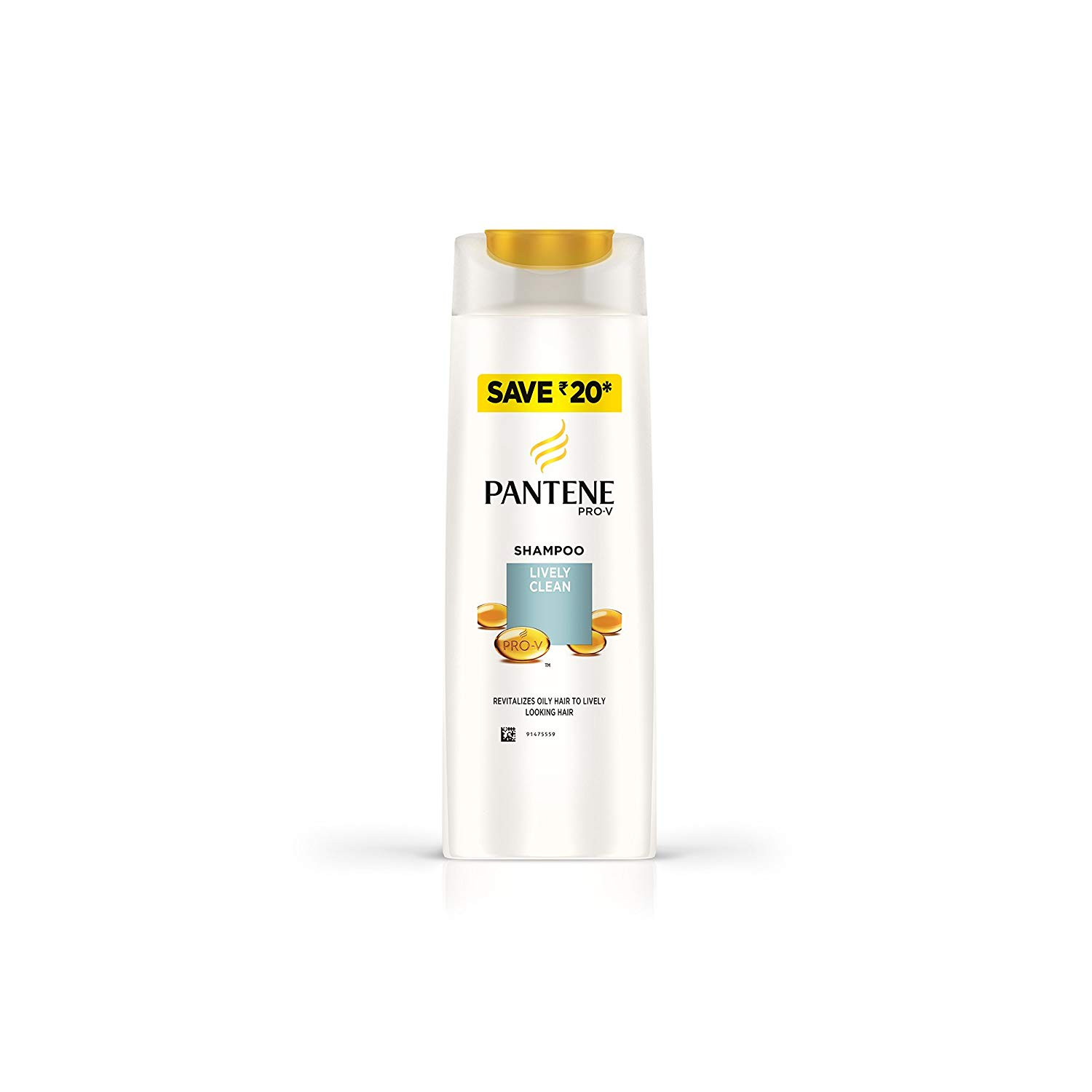 Pantene Lively Clean 340ml
