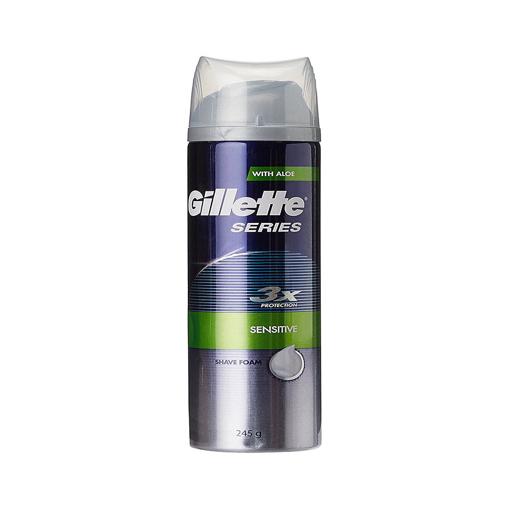 Gillette Series Sensitive Skin Shave Foam - 245 g