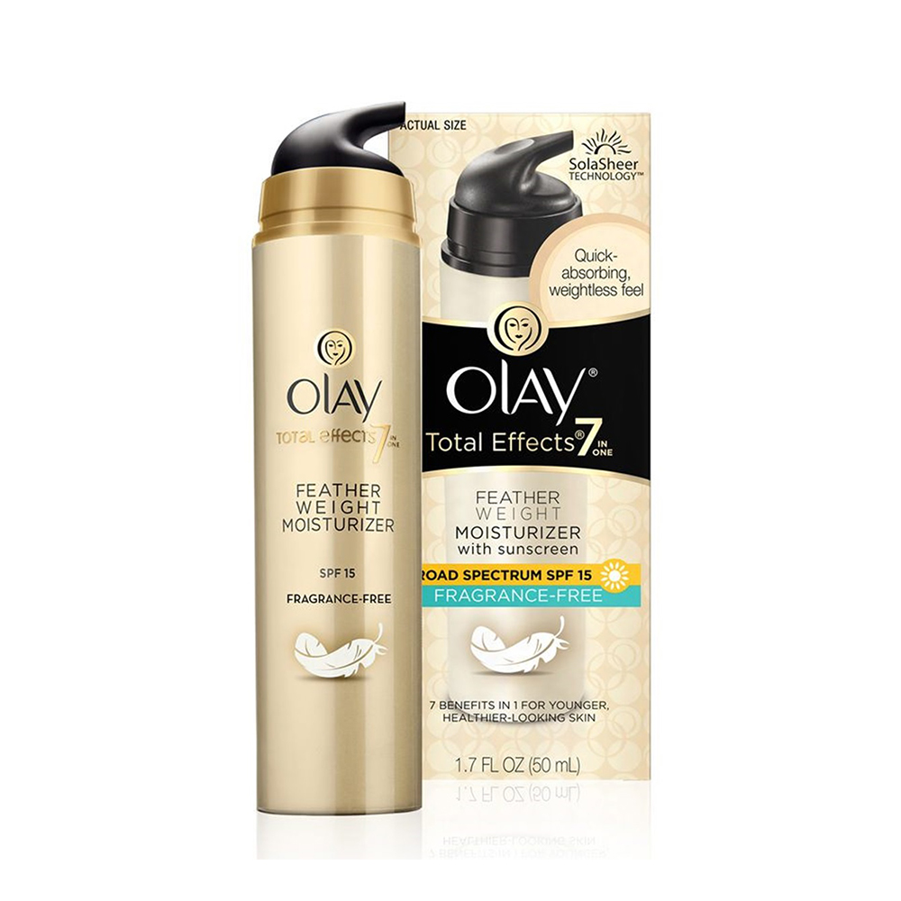 Olay Total Effects Fragrance Free Featherweight Moisturizer with SPF 15 20gm