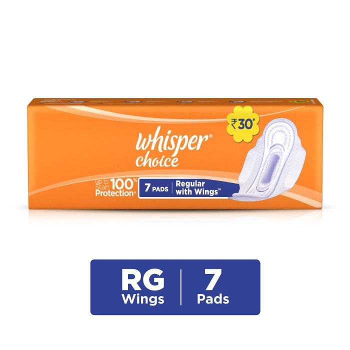 Whisper Choice Wings - 7 Pads