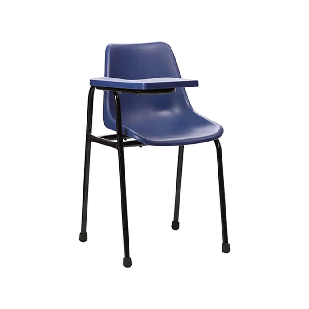 VJ Interior Escritura Blue Color Writing Chair