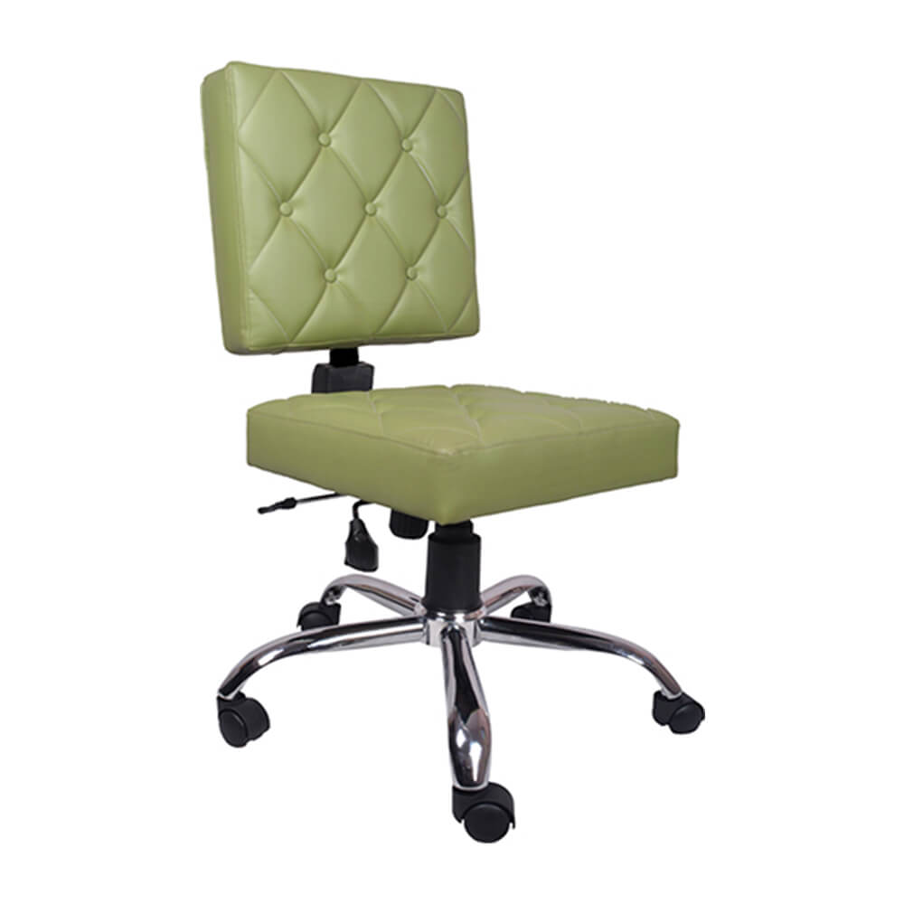 VJ Interior Preciosa Study And Task Chair Green 19 x 20 x 21 Inch VJ-0179