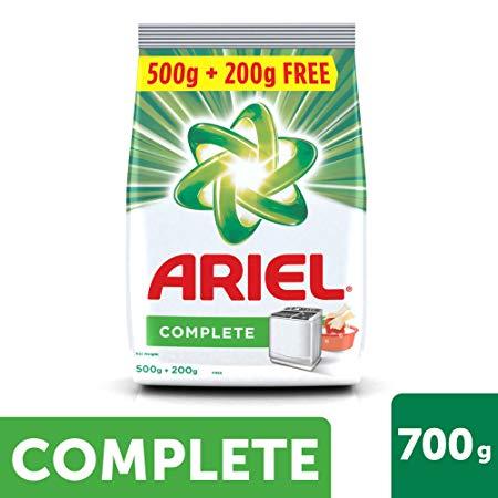 Ariel Colour Washing Detergent Powder 700g Pack