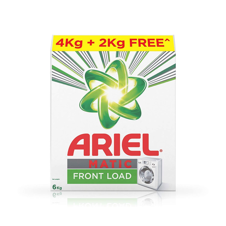 Ariel Matic Front Load Detergent Washing Powder - 6 kg