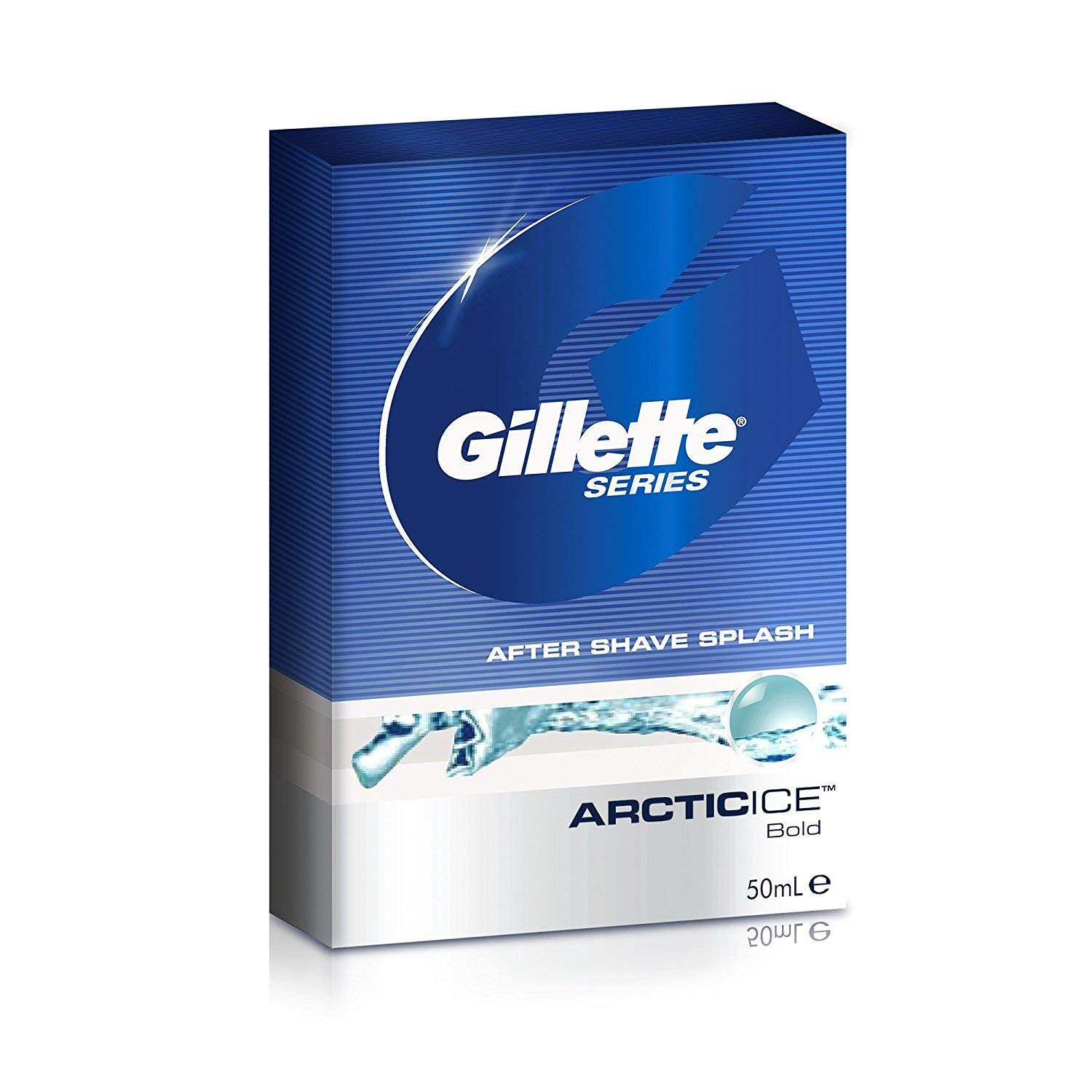 Gillette Series Arctic Ice After Shave Splash - 50 ml