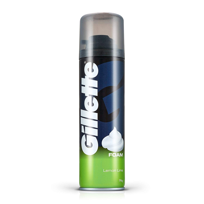Gillette Shaving Foam Lemon 200ml