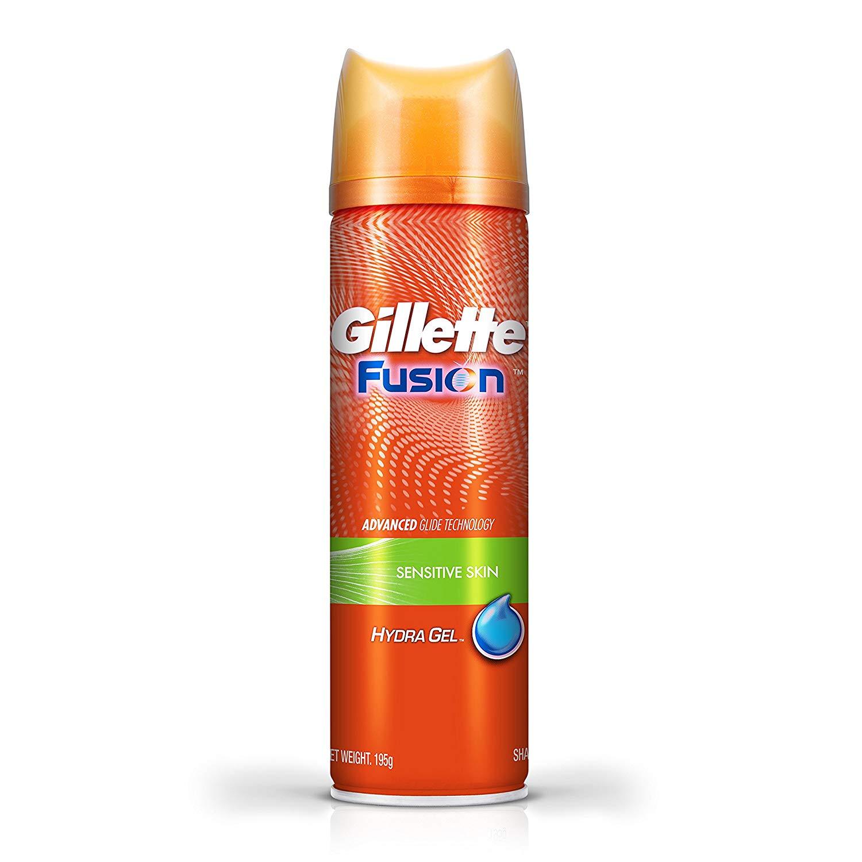 Gillette Fusion Hydragel Sensitive Pre Shave Gel - 195 g (200 ml)