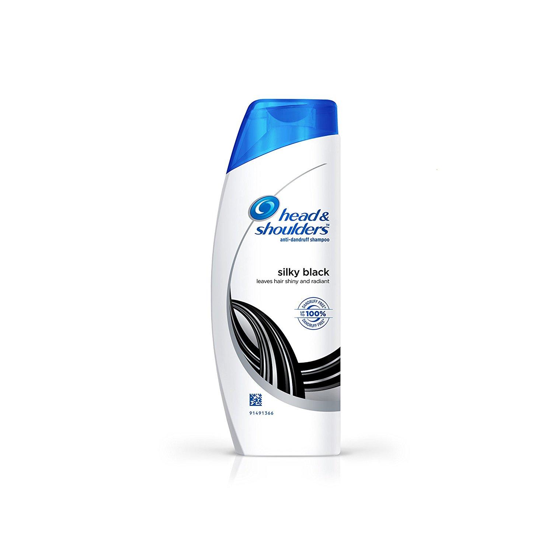 Head & Shoulders Silky Black Shampoo, 90ml
