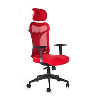 Kruz High Back Office Chair- Red