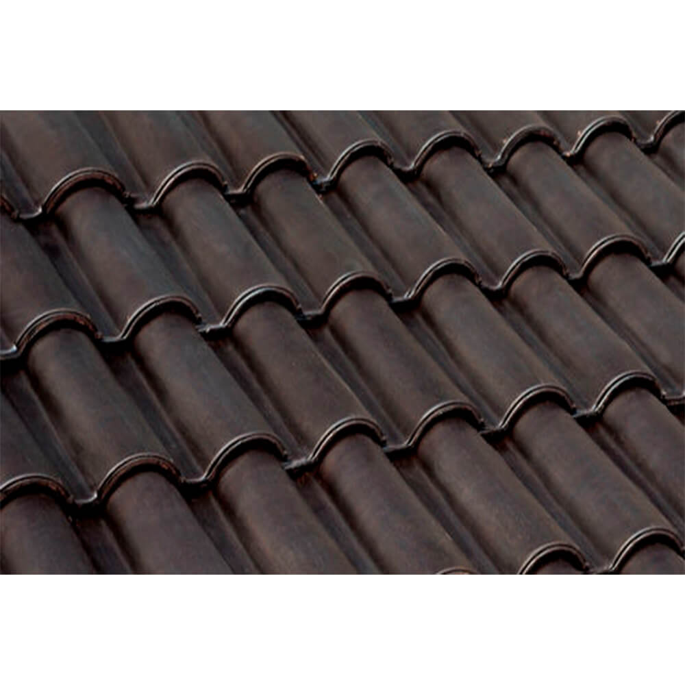Brown Mini roof tile