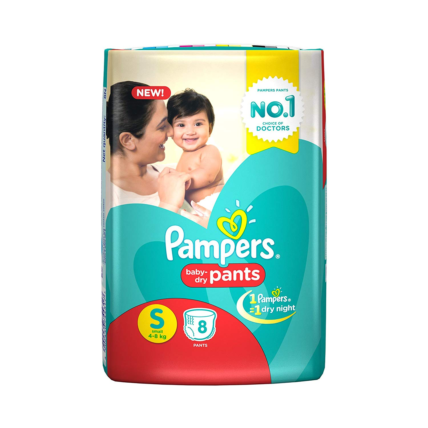 Pampers Small Size Diapers (8Count)