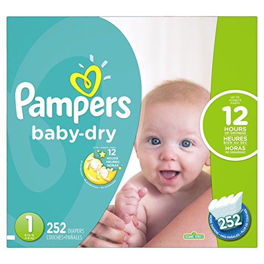 Pampers Small Size Diapers Economy Pack