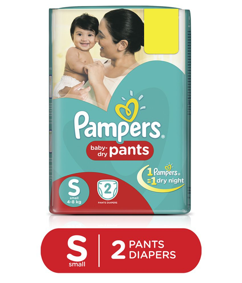 Pampers Small Size Diapers Regular Pack