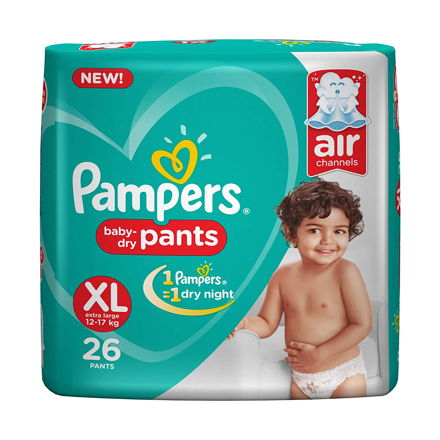 Pampers Pants Extra Large Size Diapers(26 Count)