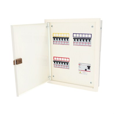 Indoasian Distribution Board TPN Double Door (810336)