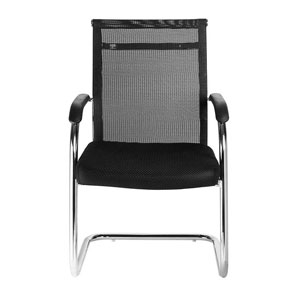VJ Interior Duradero Black Color Visitor Chair