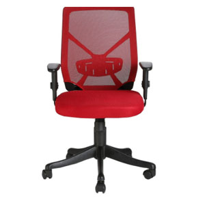 VJ Interior Sangre Red Color Executive Chair