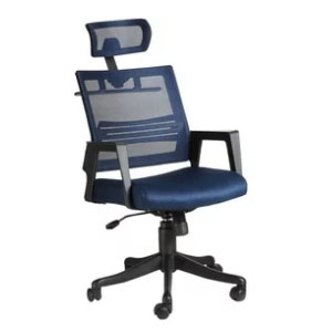 VJ Interior Marino Blue Color Executive Chair