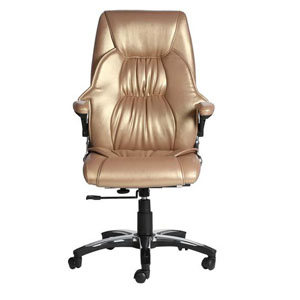VJ Interior Dorado Golden Color Executive Chair