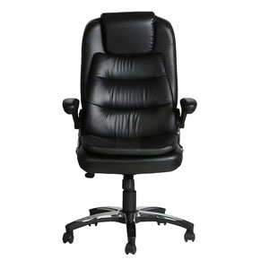 VJ Interior Largas Black Color Executive Chair
