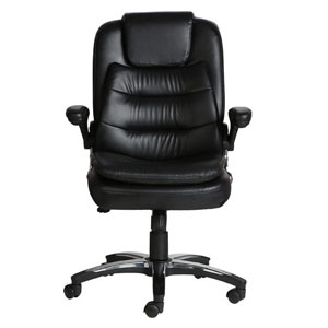 VJ Interior Mediano Black Color Executive Chair