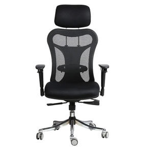 VJ Interior Cohete Black Color Executive Chair