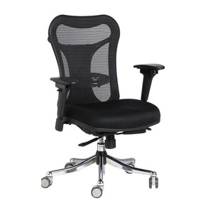 VJ Interior Corredero Black Color Executive Chair